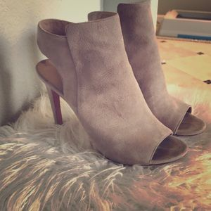 Via Spiga open-toed booties